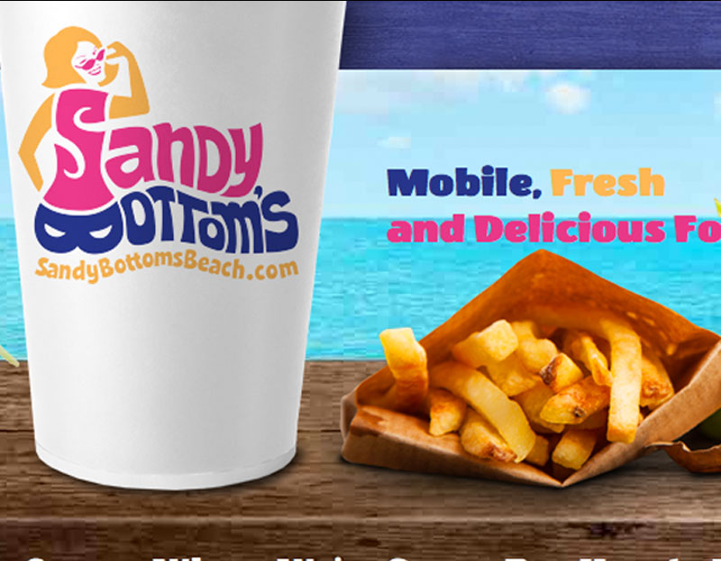 Drive Group, LLC Web Design Company Sandy Bottom's Logo & Website Sandy Bottom's Logo & Website