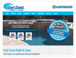 small business web design in daytona beach by Drive Group LLC